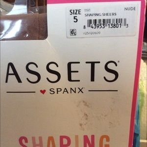 9af48bcc8a2 SPANX Intimates   Sleepwear - NEW ASSETS BY SPANX SHAPING SHEERS SIZE 5 BARE